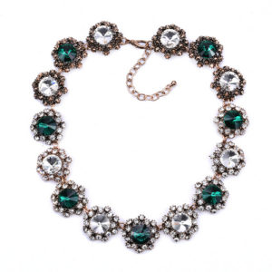 Green Choker Necklace