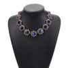 Buy Blue Jewellery Online at Alora New Zealand | Newest Jewelry Luxury Brand Fashion Rhinestone Flower Choker Necklaces For Women NZ