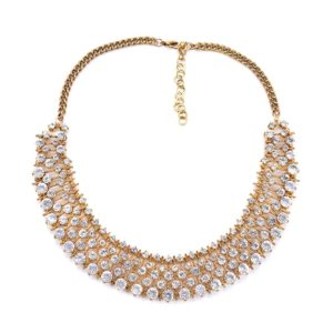 Gold Colour Chain Style Necklace