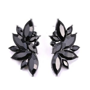 Black Colorful Luxury Design Earrings