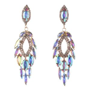 Colorful Luxury Hollow Out Earrings