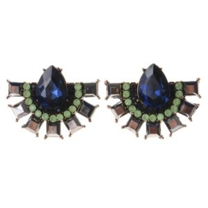 Blue Antique Vintage Fashion  Earrings