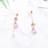 Hot Trendy Crystal Water Drop Earrings Asymmetric Geometric Rhinestone Pole Pendientes For Women Fashion | Gifts for Her New Zealand