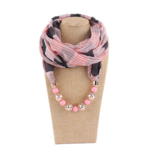 Scarf Necklace 03