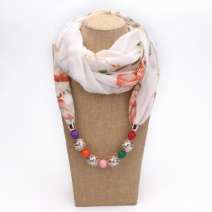 Scarf Necklace 05