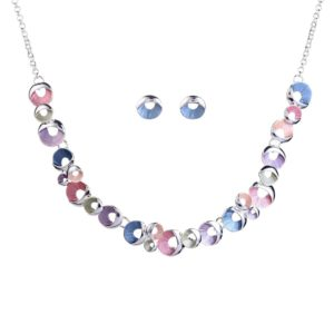 Colorful Enamel Jewelry Set-01