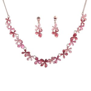 Colorful Enamel Jewelry Set-04