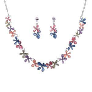 Colorful Enamel Jewelry Set-05