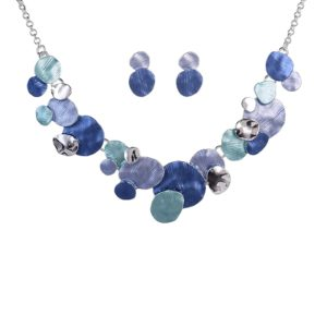 Colorful Enamel Jewelry Set-13