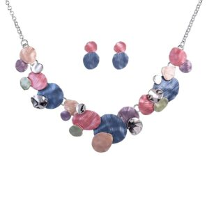 Colorful Enamel Jewelry Set-11