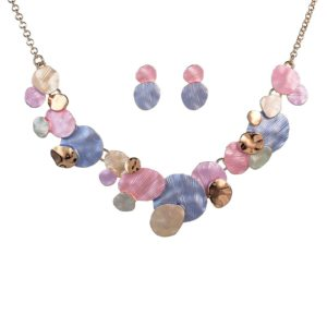 Colorful Enamel Jewelry Set-12